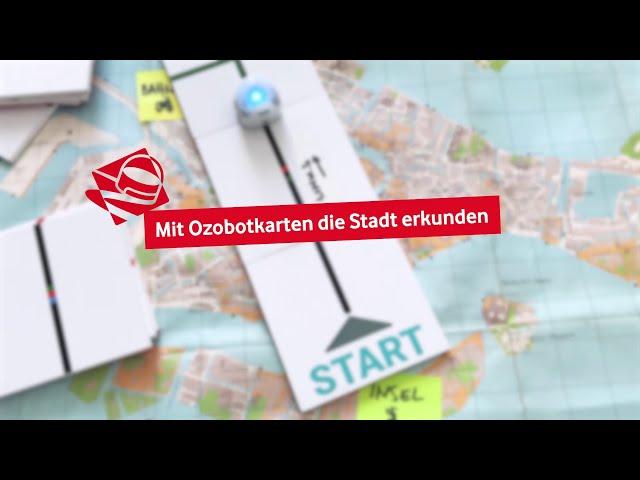 Ozobot - Mit Karten die Stadt erkunden