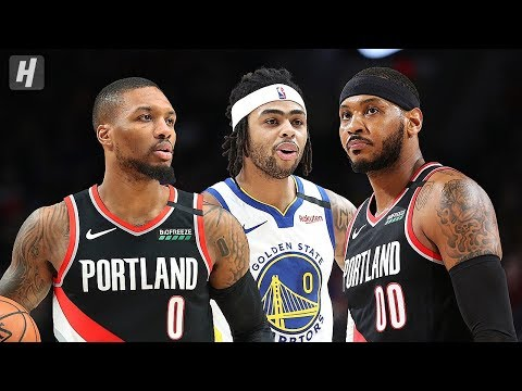 Golden State Warriors vs Portland Trail Blazers - Game Highlights | January 20 | 2019-20 NBA Season