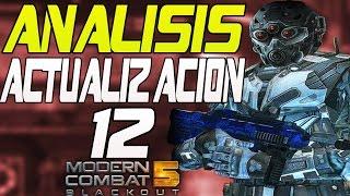 ANÁLISIS ACTUALIZACIÓN 12 para Modern Combat 5: Blackout!