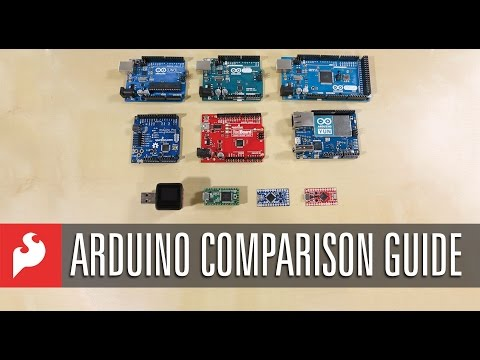 Arduino Comparison Guide