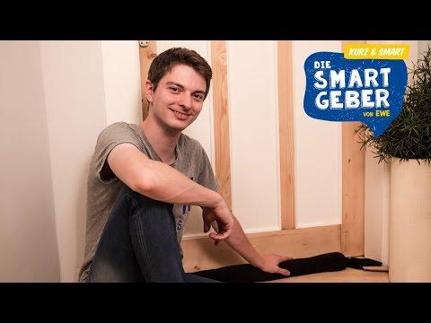 Energiesparen: Zugluftstopper für warme Räume | kurz & smart
