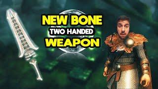 Hugo's armory new Bone Weapom