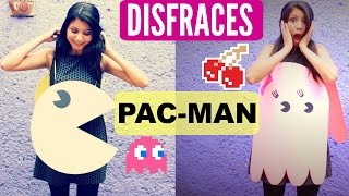 DIY Disfraces Pac Man Y Fantasmita | Pac Man And Ghost Costume