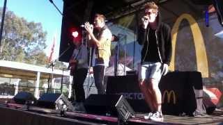 JTR Singing As Long as You Love Me 12/10/13 [McDonald's]