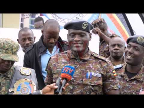 UPDF BACKS TUGUME: Kickboxer to come up against Niemoeller on May 23