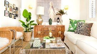 28 Boho-Chic Living Room Decorating Ideas