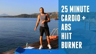 25 Minute Cardio HIIT + Abs Blaster | The Body Coach by The Body Coach TV