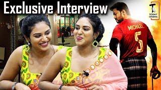 Bigil - ல தளபதி கூட   Exclusive Interview with Meyaadha Maan Indhuja