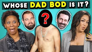 Can YOU Guess That Celebrity Dad Bod? (Father's Day Special)