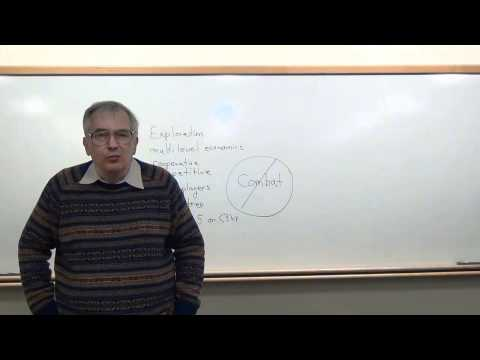 Classes in Game Design - Lecture 1