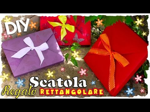 Tutorial: Scatola Regalo Rettangolare Fai Da Te | DIY  Rectangular Gift Box