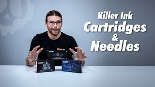 Killer Ink Tattoo Cartridges & Needles   Review & Setup