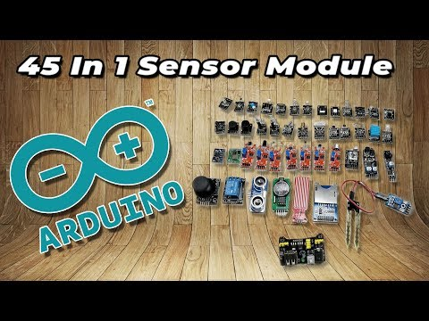| UNBOXING | 45 Sensor Module Board Kit For Arduino/Raspberry pi