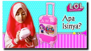 Koper Surprise ???? Trolley Surprise Toys For Kids❗Lol Surprise Isi Mainan Anak Boneka - Open Surprise