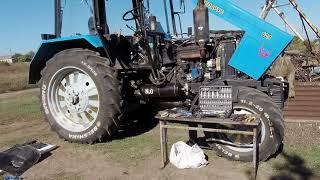 Заклинил руль МТЗ 82.1 , неудачная замена дозатора