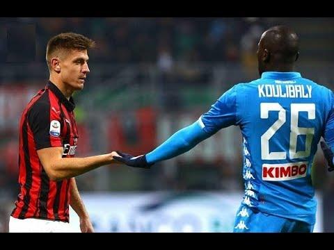 Piatek debut for AC Milan | AC Milan vs Napoli |