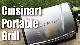Cuisinart CGG-059 Grillster 8,000 BTU Portable Gas Stainless Steel Grill Review