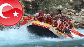 preview picture of video 'RAFTING on the river Manavgat'
