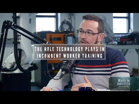 The role technology plays in incumbent worker training - YouTube