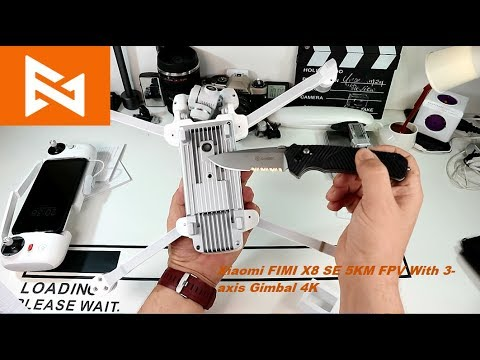 Το Drone του Καναλιού... Fimi X8 SE. Unpack-hands on και η νέα μέθοδος EU Priority line και άλλα...