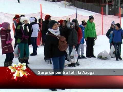 Surprize pentru toți, la Azuga