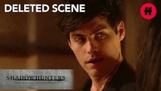 Shadowhunters Season 3, Episode 10 | Deleted Scene: Alec Tells Maryse The Truth | Freeform