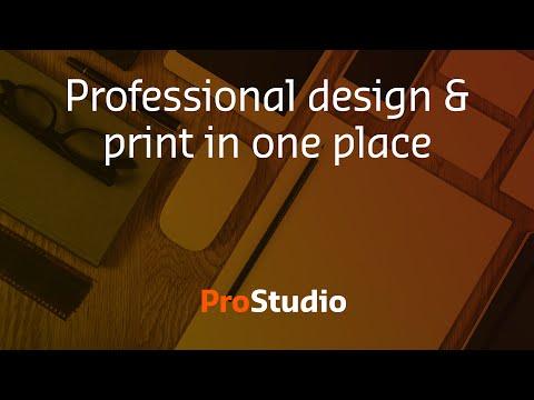 ProStudio Print and design in