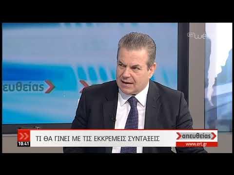 Ο Τάσος Πετρόπουλος στην ΕΡΤ   18/02/19   ΕΡΤ