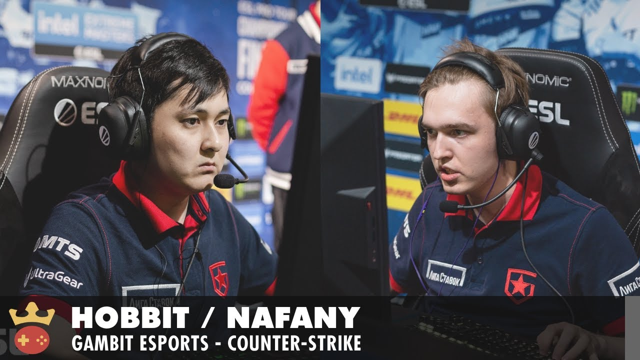 Video of Interview with nafany & Hobbit from Gambit at ESL Pro League Season 14