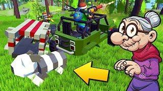 ЖИВОДЁРЫ УКРАЛИ БАБКИНОГО КОТА !!! МУЛЬТИК в Scrap Mechanic !!! СКАЧАТЬ СКРАП МЕХАНИК !!!