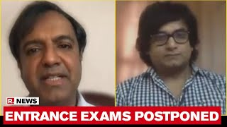 HRD Ministry Postpones NEET, JEE & CA Exams | Experts Speaks To Republic TV - Download this Video in MP3, M4A, WEBM, MP4, 3GP
