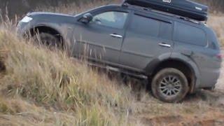 Mitsubishi Pajero Sport Off road 4x4 Test Drive 2016 Compilation