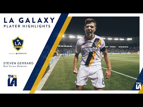 HIGHLIGHTS: The BEST of Steven Gerrard for the LA Galaxy