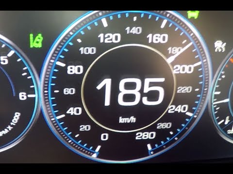 2015 Cadillac Escalade 0-100 kmh kph 0-60 mph Tachovideo Beschleunigung Acceleration