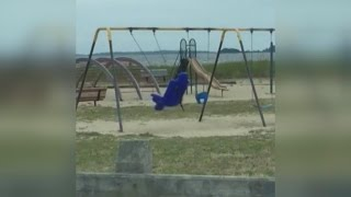 Freaked Out Dad Captures Eerie Video of 'Ghost Swing' Moving In Playground