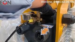 Hướng dẫn bơm ni tơ an toàn cho búa đập đá - công ty EON