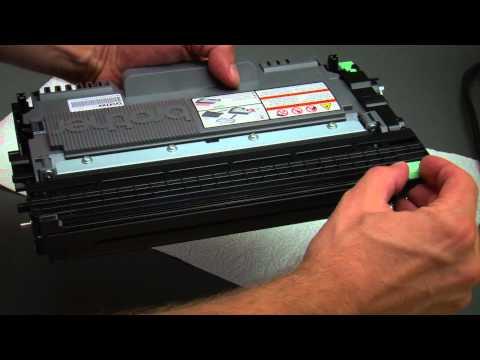 Tonerwechsel beim Brother MFC-7360N (auch MFC-7460DN und MFC-7860DW)