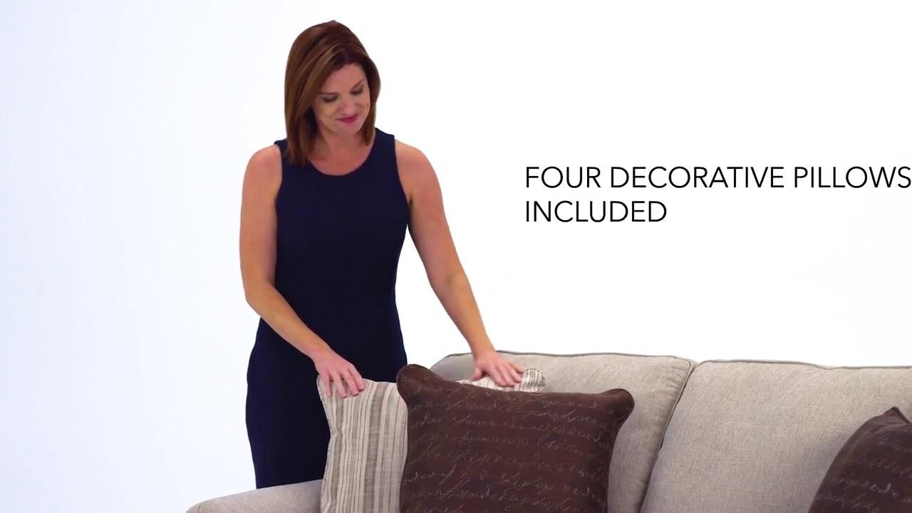 Milari Linen Living Room Set From Ashley 1300038 35