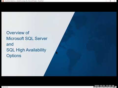 Online SQL Server Training Courses and Certifications - YouTube