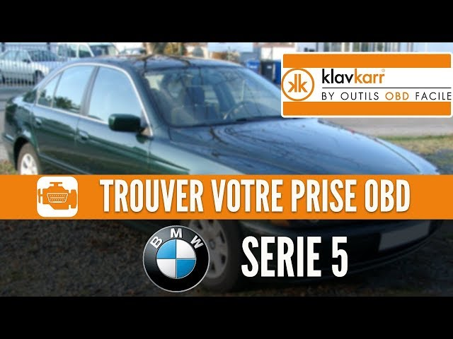 Prise OBD2 pour les BMW Serie 5 E39 (2000 - 2004)