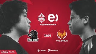 Dark Horse VS Valorous | Jornada 13 | Liga de Honor Entel