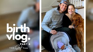 bringing newborn baby home from hospital | the east family