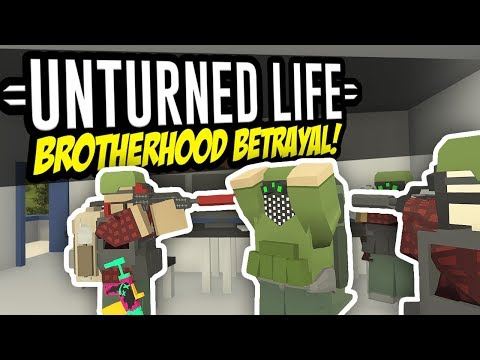 Download BROTHERHOOD BETRAYAL - Unturned Life Roleplay #75 HD Mp4 3GP Video and MP3