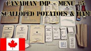 "CANADIAN IMP BREAKFAST MENU #5 FEAT. ""MRE WIFE"" SCALLOPED POTATOES & HAM – HD 1080P"
