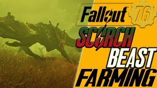 fallout 76 FARMING SCORCHBEASTS where to always find scorchbeasts in fallout 76