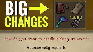 BIG Changes to Ammo, Rune Pouch  Bolt Pouch