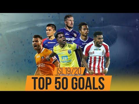 50 World Class Goals in ISL 2019-20 ft. Ogbeche Roy Krishna Valskis & Sunil Chhetri