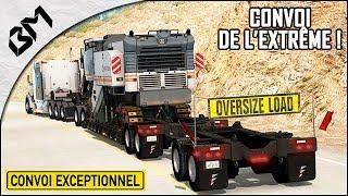 American Truck Simulator - L'ÉNORME Convoi de l
