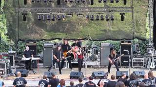 Video EBONY WALL - Die In Flames LIVE @ METAL Loket 2013