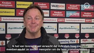 Voorbeschouwing Volendam-De Graafschap